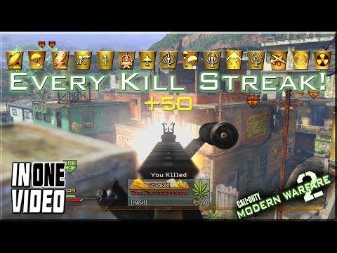 USING EVERY MODERN WARFARE 2 KILLSTREAK IN ONE VIDEO!