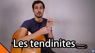 Les tendinites à la guitare