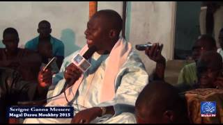 Magal Darou Moukhty 2015 Conférence de S- Ganna messere chez S- Mame Thierno ibn S- Mikhdad