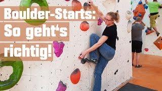 Starts beim Bouldern: Was viele falsch machen und wie es richtig geht