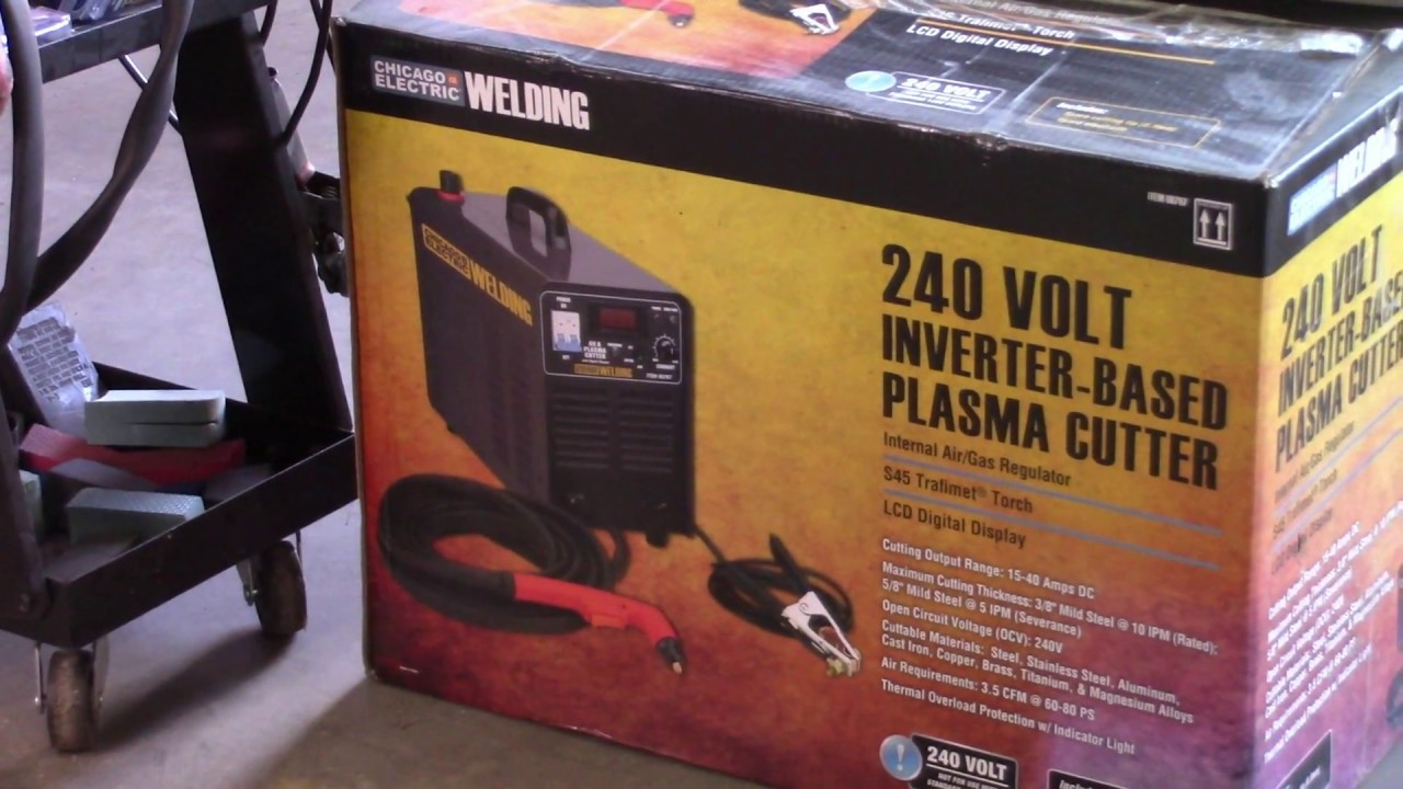 Harbor Freight Plasma Cutter Review Part