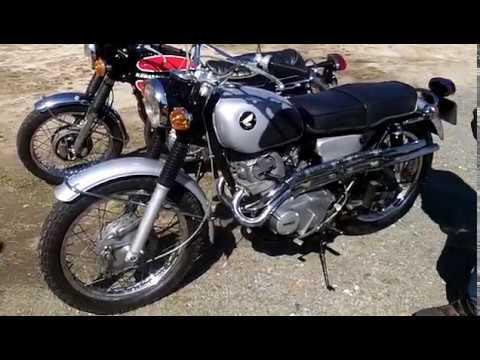1966年 HONDA DREAM CL72 SCRAMBLER ホンダドリーム スクランブラー
