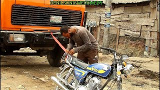 Download Denilson Chibuike Igwe Comedy - Bike man towing van (Denilson Igwe Comedy)