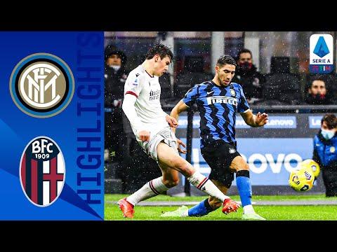 Inter 3-1 Bologna | Doppietta di Hakimi e gol di Lukaku, l'Inter batte il Bologna | Serie A TIM