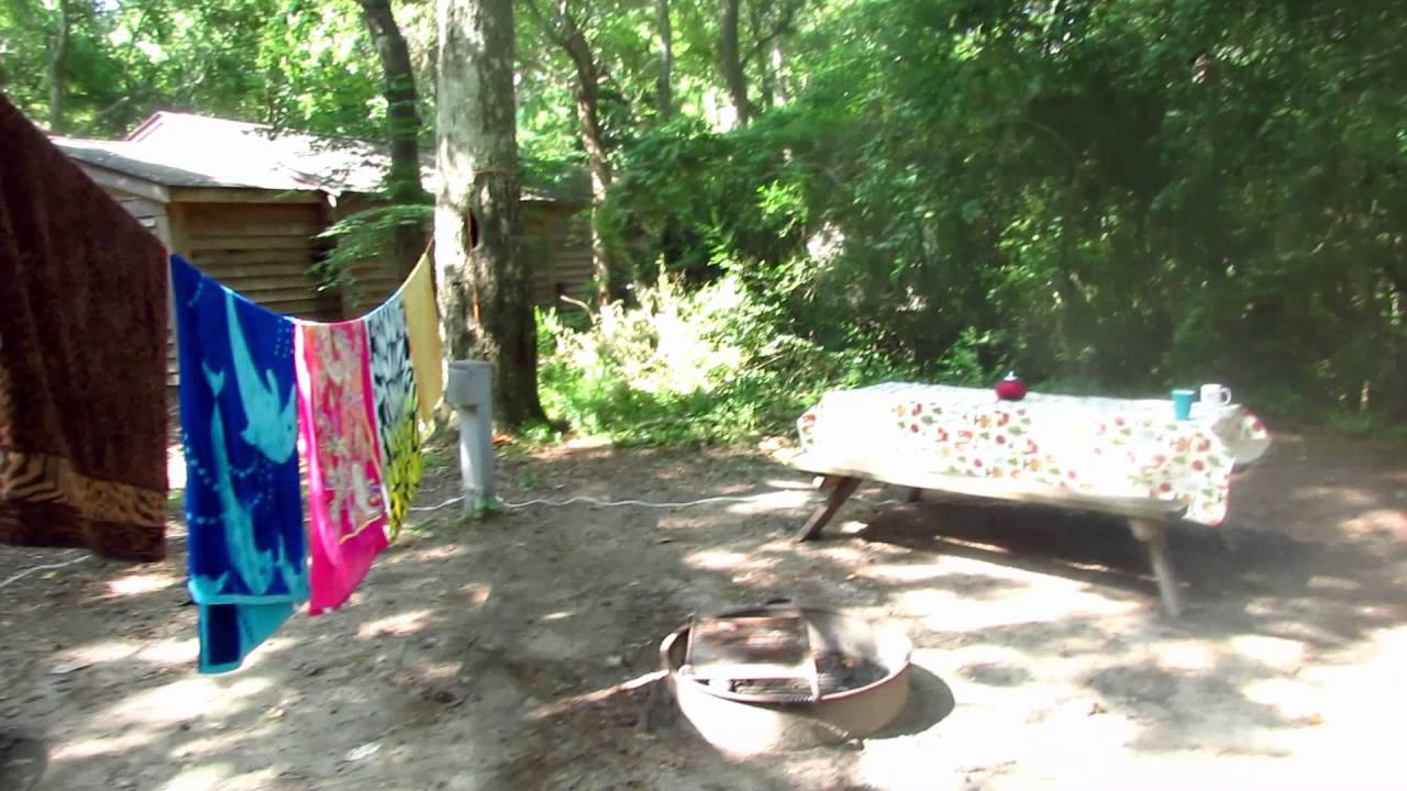 Myrtle Beach State Park Campground 2016 - YouTube
