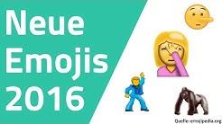 Neue Emojis 2016 - Facepalm, Selfie, Lügengesicht, Disco Dancer