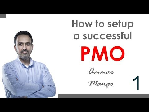 How to Setup a Successful PMO - Part 1