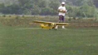 Sig 1/4 Quarter Scale Piper Cub J-3 R/c Model Airplane Saito Futaba Imaa Ama