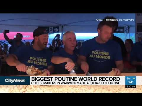 Jason Hurst - Canadian Cheesemakers Set World Record by Making 6,688 Pounds Of Poutine