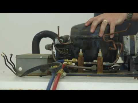 How to install a Danfoss light commercial compressor - YouTube Danfoss Tf Clx Wiring Diagram on