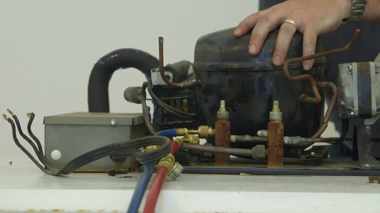 How To Install A Danfoss Light Commercial Compressor