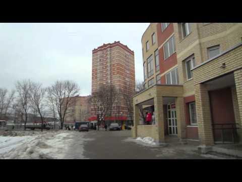 Видео микрорайон Финский города Щёлково