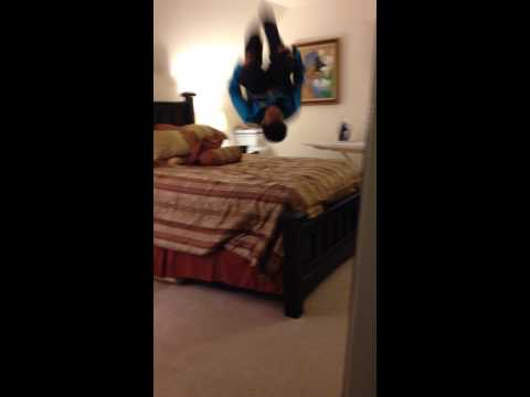 First time doing a front flip