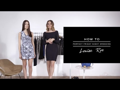 HOW TO: Perfect Friday Night Dressing - REISS
