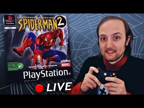 Spider-Man 2 PS1 🕷️ LIVE 🕸️