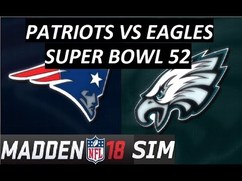 Madden 18 - Super Bowl - New England Patriots vs ...
