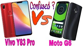 Y83 Pro vs Moto G6 || Vivo Y83 Pro vs Moto G6 || Detail Comparison || AS Talent Zone