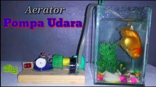 Cara Membuat Pompa Udara Aquarium Dari Tutup Botol | Aerator Diy