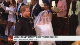 Hercegi címet adományozott a királynő Harry hercegnek és Meghan Markle-nek