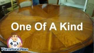 Designer Cherry Wood Dining Room Table Furnituremanireland