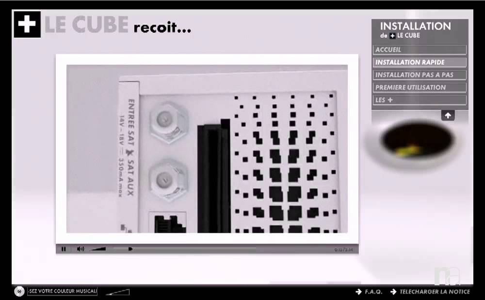 shades of best sale ever popular CANAL+ - Installation du décodeur + LE CUBE