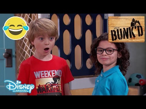 Bunk'd | Sneak Peek - The Robot Cleaner