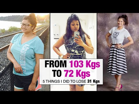 My Weight Loss Transformation: How I Lost 31 kgs with Homemade Food | Fat to Fit | Fit Tak