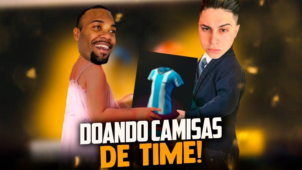 🚩PEGANDO TODAS CAMISAS DE TIME !! CODIGUIN ??  LOUD MEGA!! SOLO RANKED!🔴FREEFIRE AO VIVO - LIVE