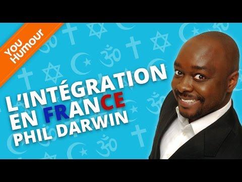 PHIL DARWIN - L'intégration en France