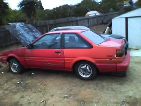 1986 corolla ae86 gts for sale youtube. Black Bedroom Furniture Sets. Home Design Ideas