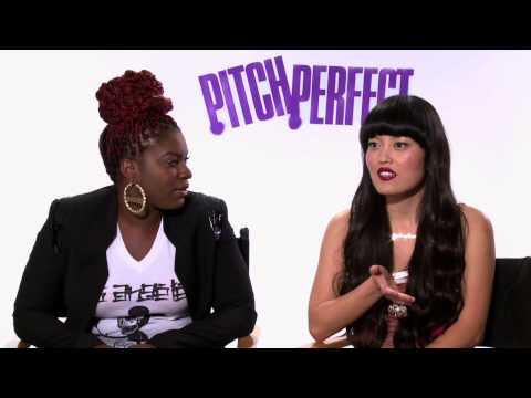 Ester Dean & Alexis Knapp & Hana Mae Lee 'Pitch Perfect' Interview!