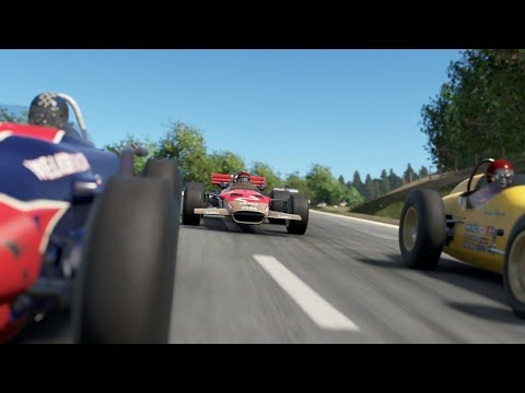 Project CARS 2 - Classic F1 VS Classic IndyCar at old Spa Francorchamps
