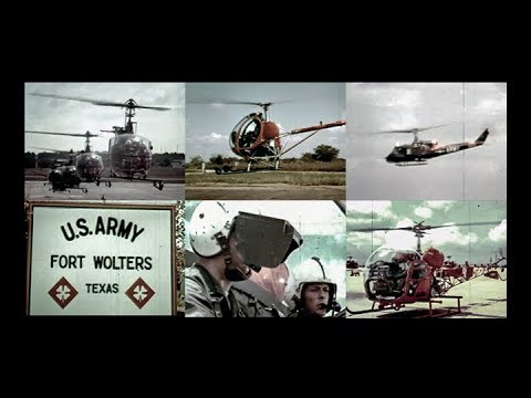 Chopper Pilot - U.S. Army Helicopter Training  (1968, Color)