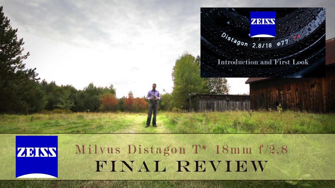 Zeiss Milvus Distagon 18mm f/2 8 Final Review + IQ