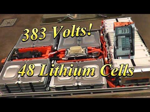 Disassembling a 2012 Nissan Leaf Battery Pack