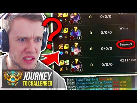 WTF SMITE SONA? SEASON 9 META IS HERE - Journey To Challenger | League of Legends