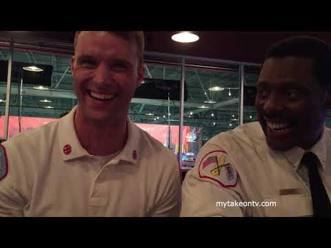 ONE CHICAGO DAY 2018: Jesse Spencer and Eamonn Walker on CHICAGO FIRE