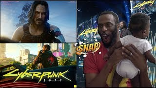 REACTION to Cyberpunk 2077 Full Presentation with Keanu Reeves | Microsoft Xbox #E3 2019