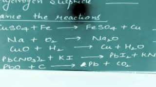 Part1 Class10 Chemical Equations and Reactions