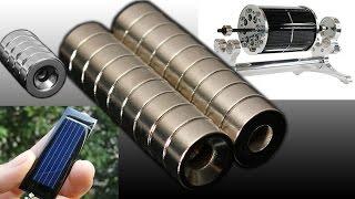 Неодимовые магниты для левитирующего двигателя и солнечные панели(, 2016-05-18T05:13:42.000Z)
