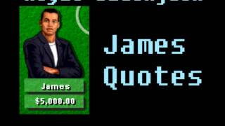 Hoyle Blackjack - James Quotes