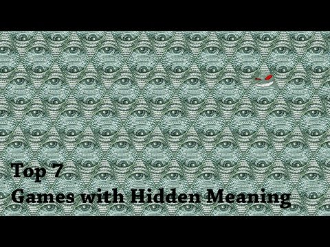 Top 7 Video Games with Hidden Meaning