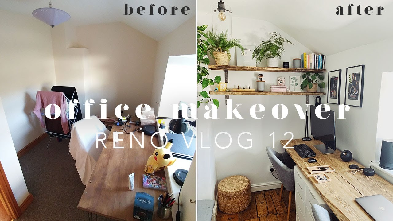 HOME OFFICE MAKEOVER | RENO VLOG 12