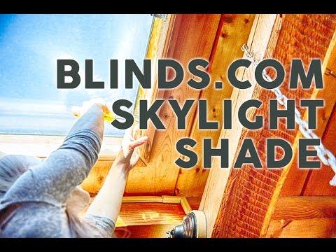 unboxing blindscom bali diamondcell light filtering cellular skylight shades