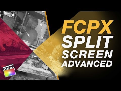 Advanced Split Screen + Animation Creation in Final Cut Pro X - No External Plugins Required