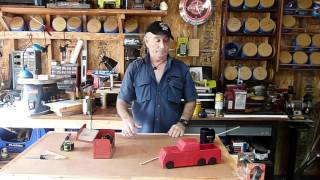 How to make easy wooden toy wheels episode 27