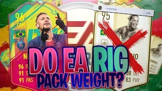 DO EA RIG PACK WEIGHT?