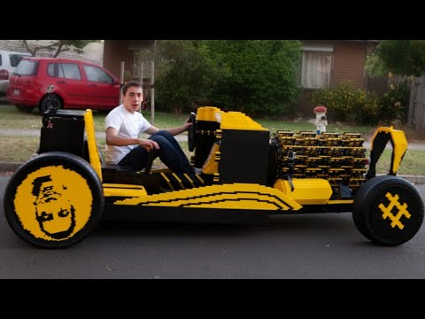 10 Most Incredible LEGO Creations