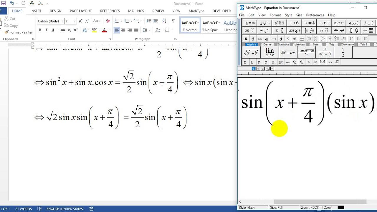 [Lượng giác 11]Giải phương trình lượng giác lớp 11 nâng cao trích đề thi học sinh giỏi hay và khó