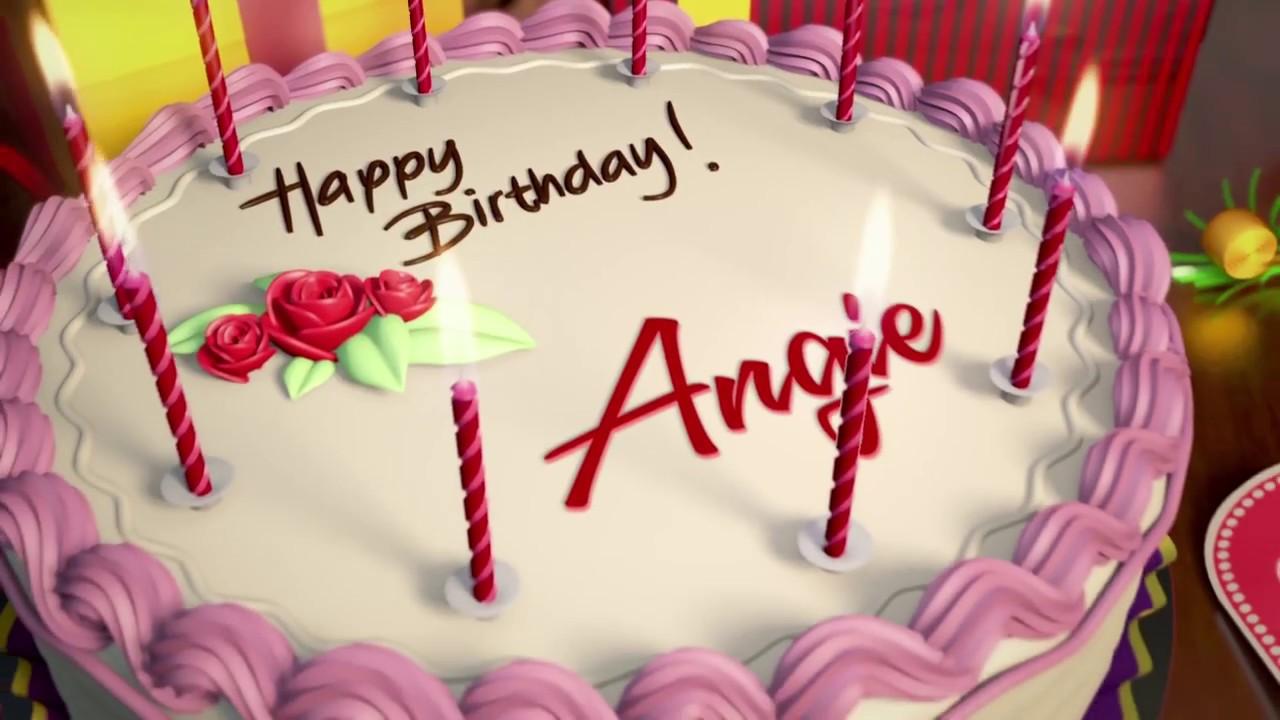 Feliz Cumpleaos Angie Youtube